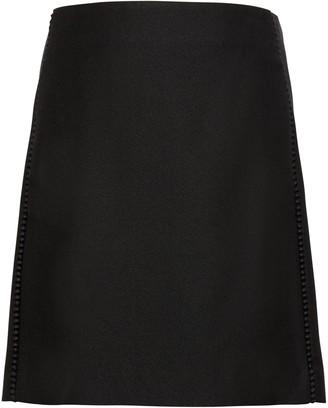 Banana Republic Pom-Pom Mini Skirt