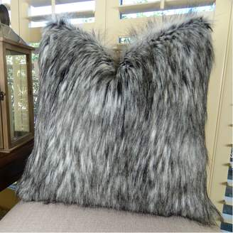 Thomas Laboratories Collection Handmade in USA Premium Faux Fur Designer Pillow for Couch Sofa Bed, Made in USA Pillow Insert & Cover, Pillow - 17411