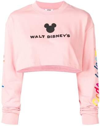Gcds GCDS X Disney cropped hoodie