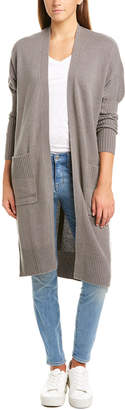Forte Cashmere Dolman Sleeve Cashmere Cardigan