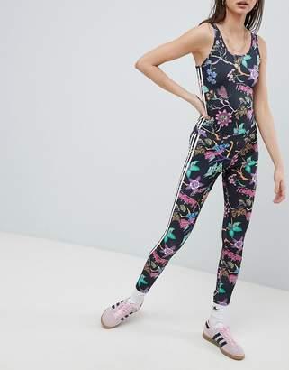 adidas Floral Print Leggings