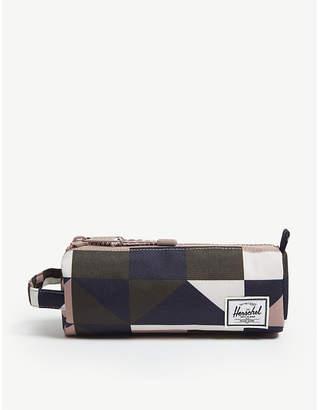 Herschel Patterned canvas pencil case