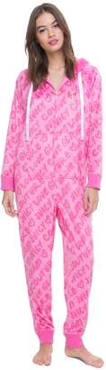 Juicy Couture Cozy Fleece Hooded Onesie