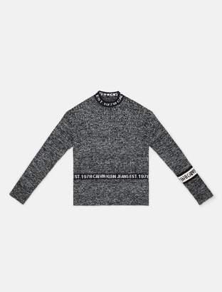 Calvin Klein EST. 1978 logo crewneck sweater