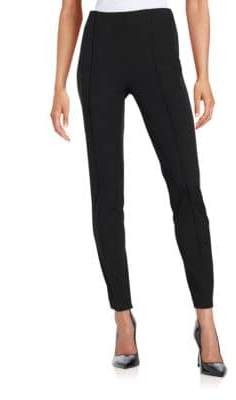 Vince Camuto Ponte Side-Zip Leggings