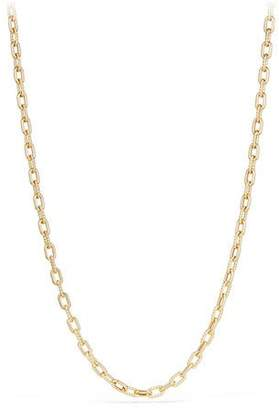 "David Yurman 18k Madison Bold Chain Link Necklace, 18""L"