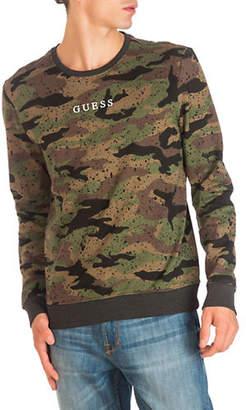 GUESS Kurtis Camouflage Fleece Sweatshirt