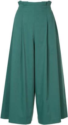 ASTRAET high-waist culottes