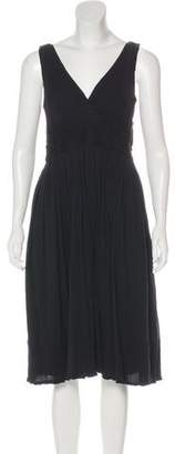 Marc by Marc Jacobs Pleated Midi Dress