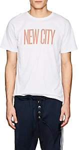 "Saturdays NYC Men's ""New City"" Cotton Jersey T-Shirt - White"