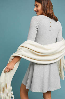 Three Dots Erica Brushed Fleece Dress