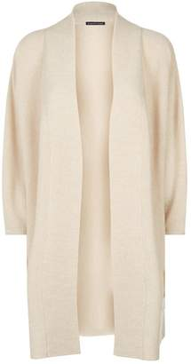 Eileen Fisher Wool Ribbed Cardigan