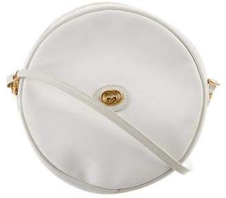 Gucci Vintage Micro GG Circle Crossbody Bag