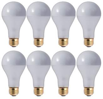 Bulbrite Industries 100W E26 Dimmable Incandescent Light Bulb Frosted Silver Bowl
