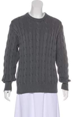Blumarine Knit Crew Neck Sweater
