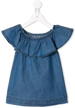 Molo ruffle trimmed blouse