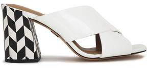 Michael Kors Patent-Leather Mules