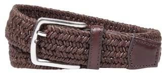 Bespoke Braided Leather Belt