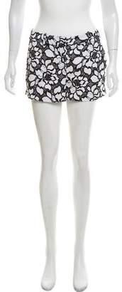 Diane von Furstenberg Lace Mini Shorts