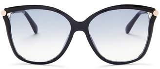 Jimmy Choo Women's Tatti Oversized Cat Eye Sunglasses, 58mm