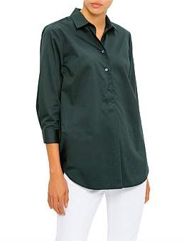 David Jones Cotton Sateen Shirt