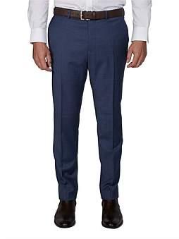 Geoffrey Beene Slim Fit Indigo Mottle Microstructure Suit Trouser