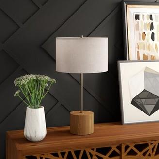 "Mercury Row Larosa 29"" Table Lamp with Drum Shade Mercury Row"