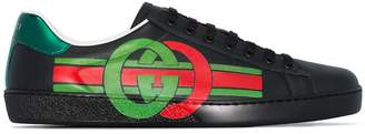 Gucci Ace GG logo-printed sneakers
