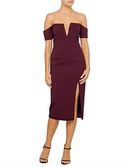 Nicholas Bandage Deep V Pencil Dress