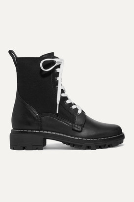 Rag & Bone Shiloh Leather Ankle Boots - Black