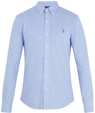 Polo Ralph Lauren Oxford logo-embroidered cotton-piqué shirt