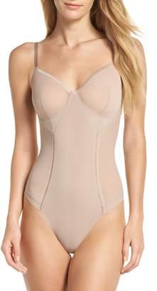 Spanx R) Haute Contour Thong Bodysuit