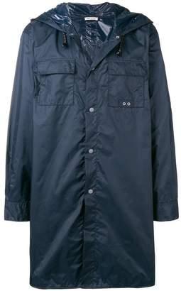 Marni hooded parka coat