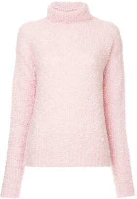 Sies Marjan fuzzy knit turtleneck jumper