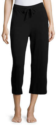 Neiman Marcus Majestic Paris for French Terry Cropped Lounge Pants