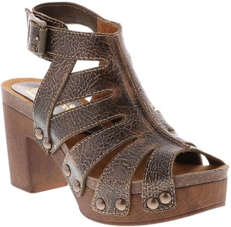Sbicca Leather Fisherman Heeled Sandals - Jaydin