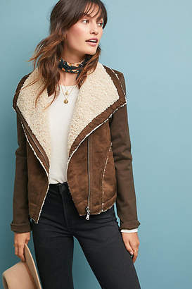 Marrakech Sherpa Moto Jacket