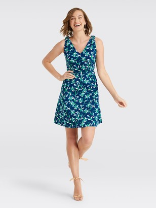 Draper James Floral Knot Love Circle Dress