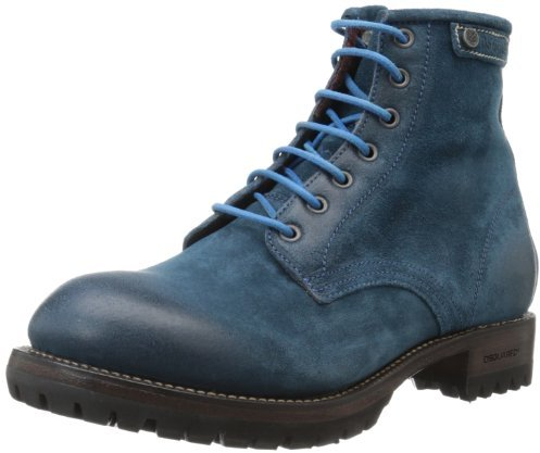 DSquared DSQUARED2 Men's Rebel Velour Boot