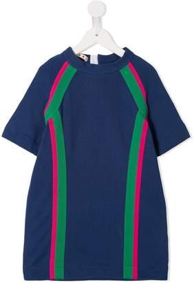 Marni colour block T-shirt dress