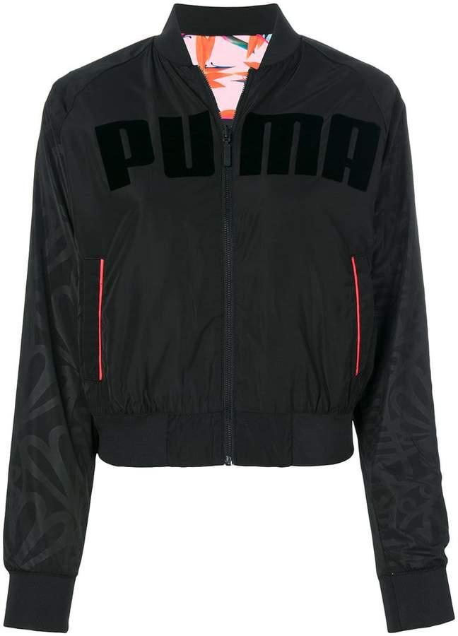 Puma X Sophia Webster Bomberjacke mit Logo-Print