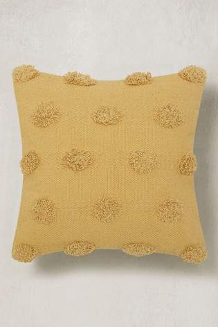 Next Textured Pom Pom Cushion