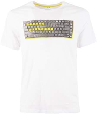 Armani Collezioni Keyboard T-shirt