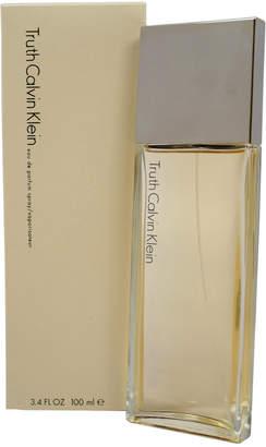 Calvin Klein Truth Women's 3.4Oz Eau De Parfum Spray