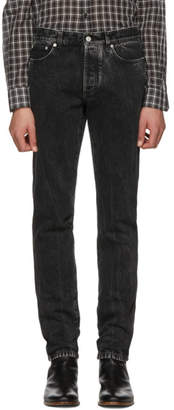 Givenchy Black Vintage Slim Jeans