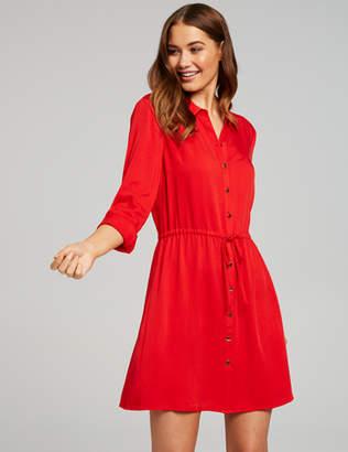 Dotti Violet Shirt Dress