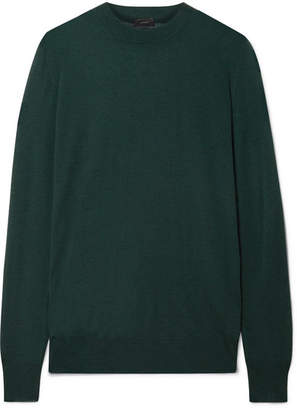 Joseph Cashmere Sweater - Emerald