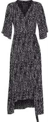 Vix Eva Printed Voile Midi Dress