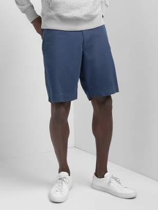 """Gap 10"""" Twill Shorts with GapFlex"""