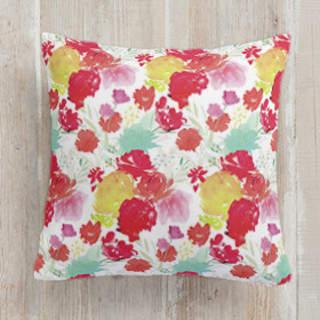 Cheery Garden. Square Pillow